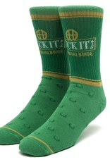 HUF Brown Bag Sock Green