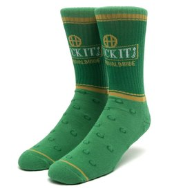 HUF Brown Bag Sock Green
