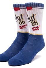HUF Brown Bag Sock Blue