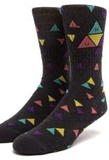 HUF TT Pattern Sock Charcoal
