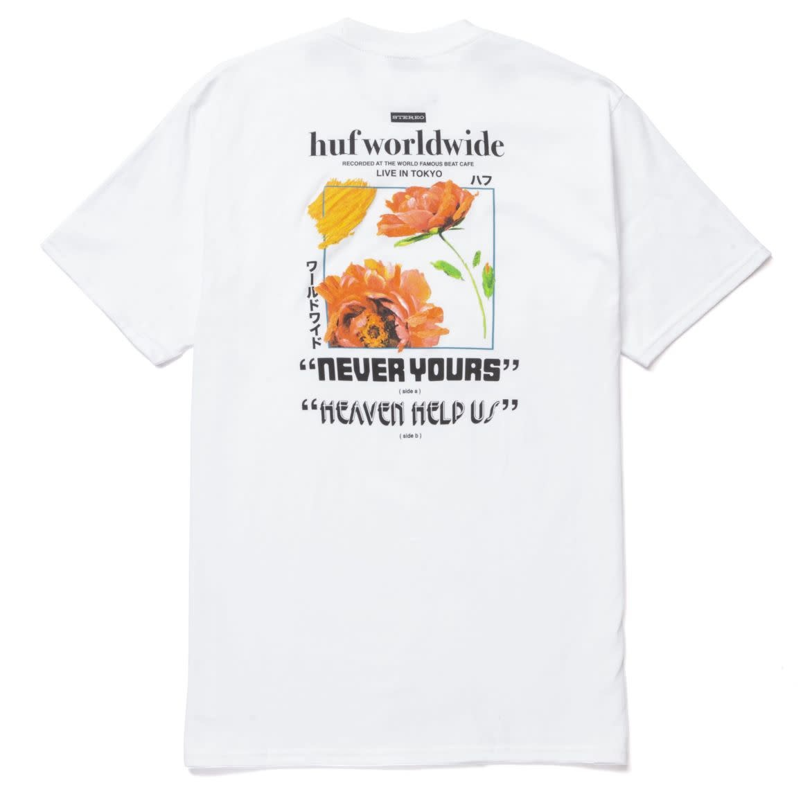 HUF Never Yours White