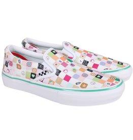 Vans Shoes Frog x Slip On Pro LTD White/Multi