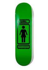 """Girl Bannerot 93 Til 8.0"""" Green/Black"""