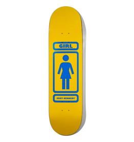 """Girl Kennedy 93 Til 8.375"""" Yellow/Blue"""