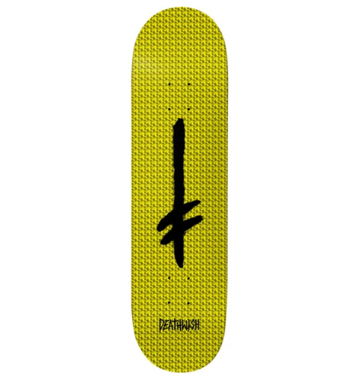 "Deathwish Skateboards Credo Yellow Holo Foil 8.25"""