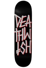 """Deathwish Skateboards Deathstack Black/Holo Foil 8.0"""""""