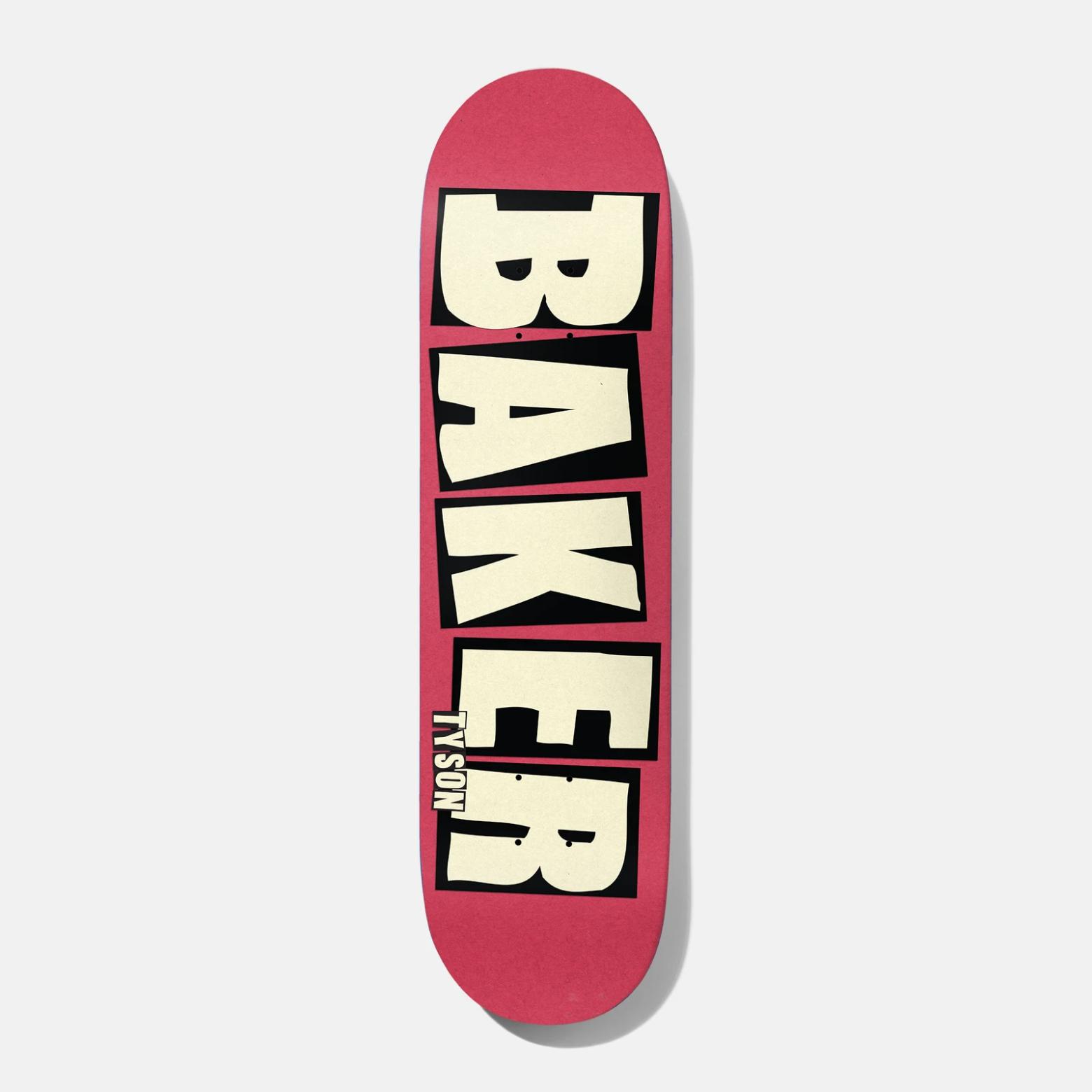 """Baker Skateboards TP Brand Name Blush 8.475"""""""