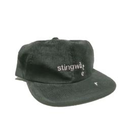 Stingwater Drip Logo Cord Hat Black