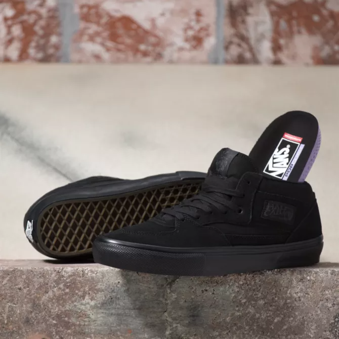 Vans Shoes Skate Half Cab Black/Black