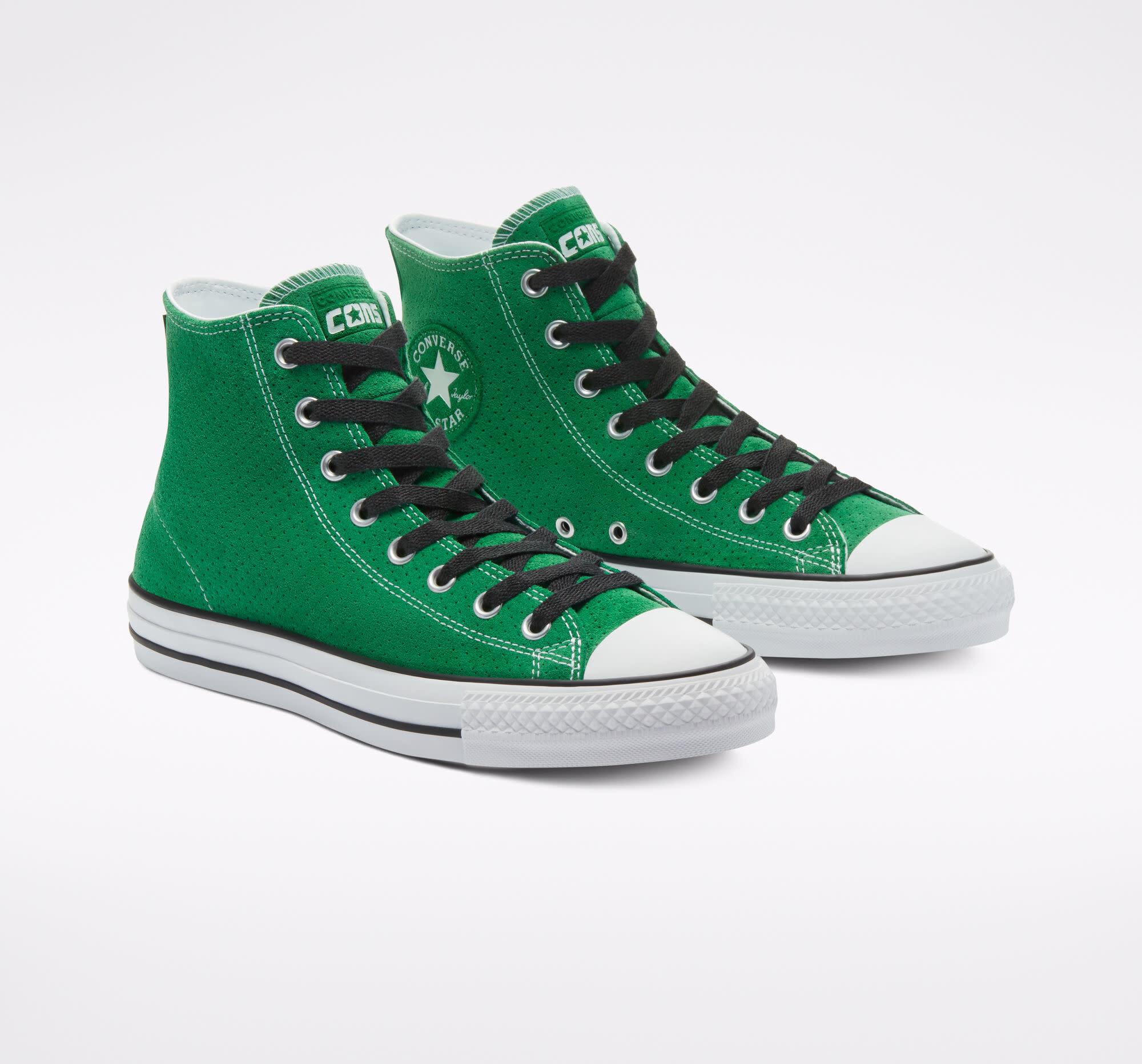 Converse USA Inc. CTAS Pro HI Perforated Green/Black/White
