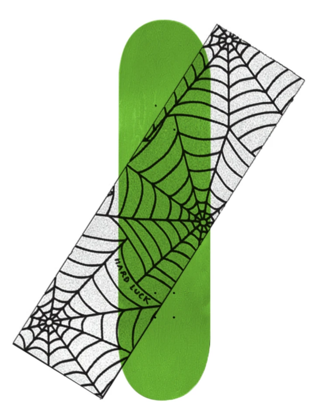 Hard Luck Mfg. Reverse Spider Web Clear Griptape