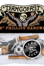"Hard Luck Mfg. Hard Luck Team 7/8"" Phillips Hardware"