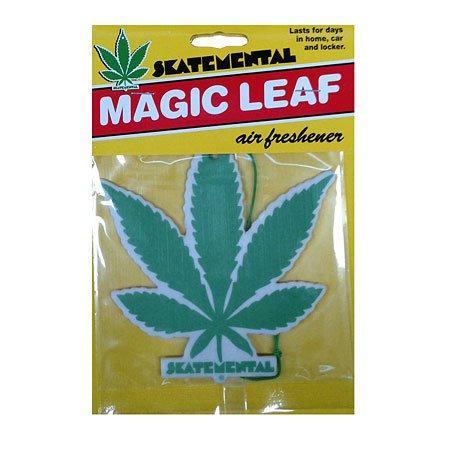 Skate Mental Pot Leaf Air Freshner