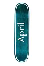 April Skateboards OG Logo Invert Mint 7.8
