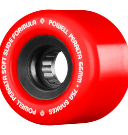 Bones Powell Peralta Snakes Red 75a 66mm