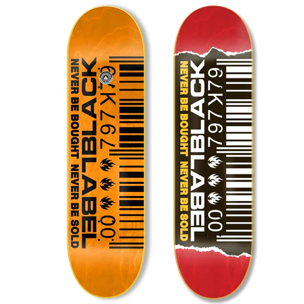 Black Label Barcode Ripped 8.8