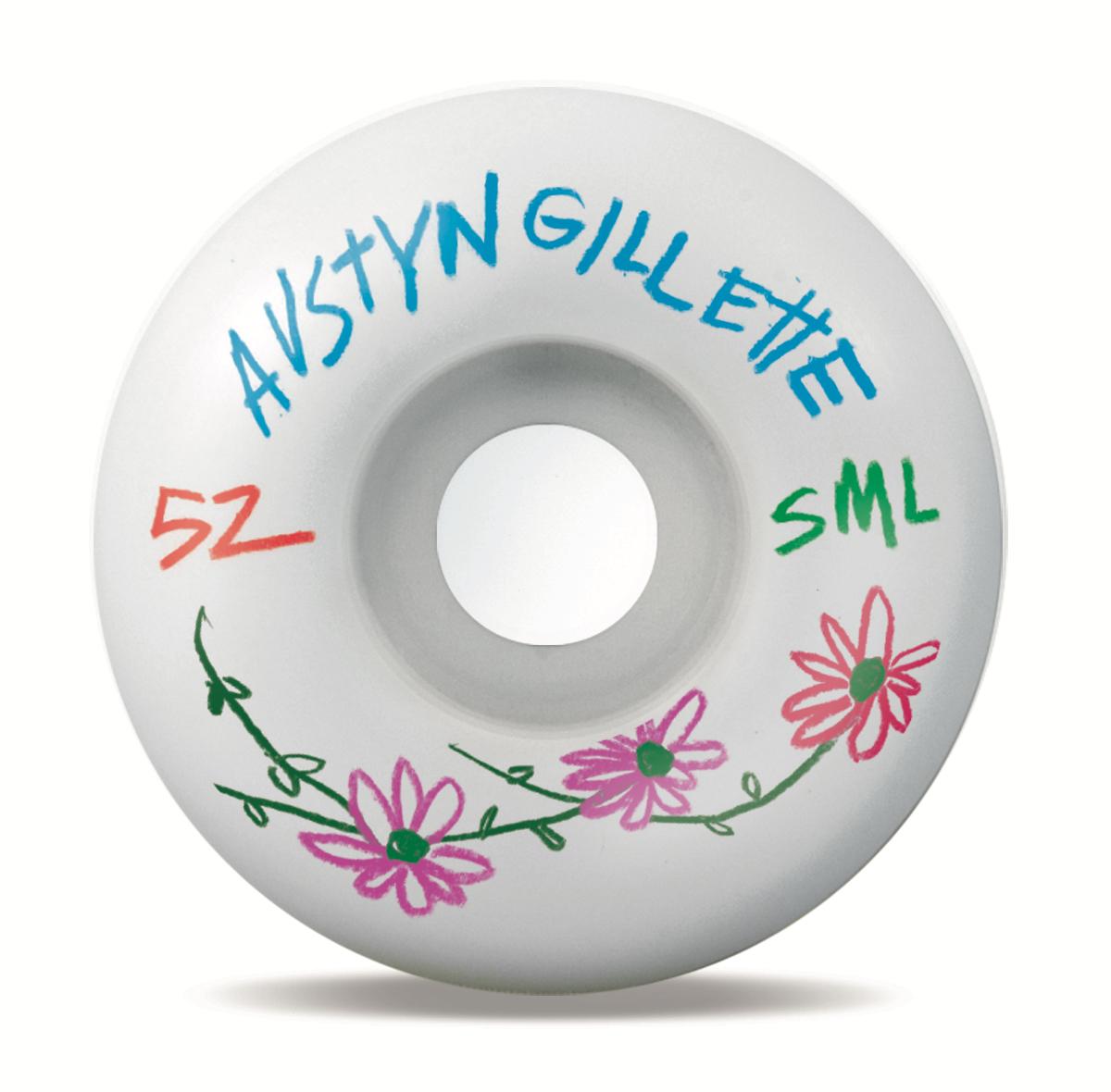 SML. Wheels Pencil Pusher Gillette OG Wide 99a 52mm