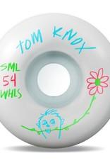 SML. Wheels Pencil Pusher Knox V-Cut 99a 54mm