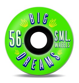 SML. Wheels Succulent Cruiser Greenies V-cut 92a 56mm