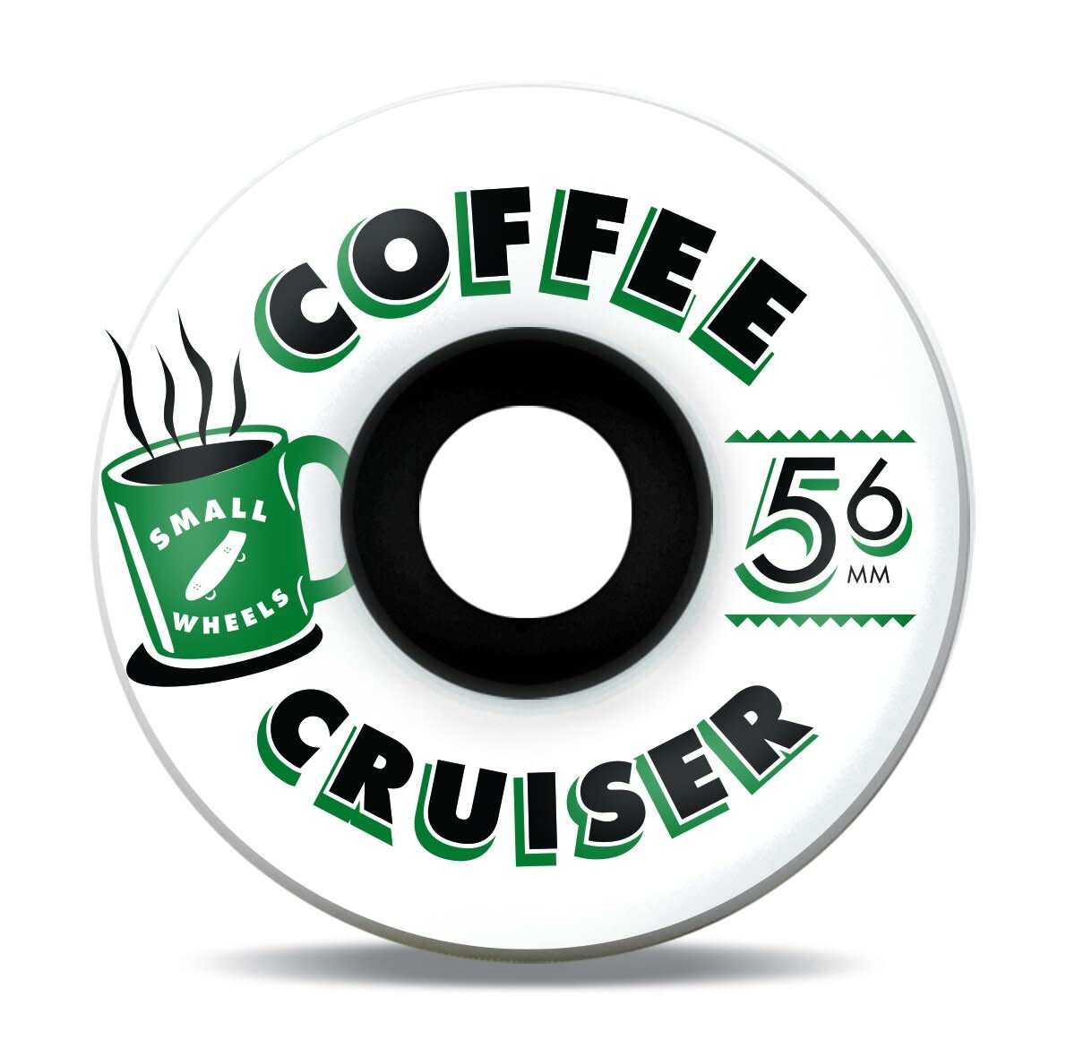 SML. Wheels Coffee Cruiser Forest 78a 56mm