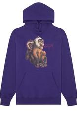 Fucking Awesome Monkey Radar Hoodie Grape L