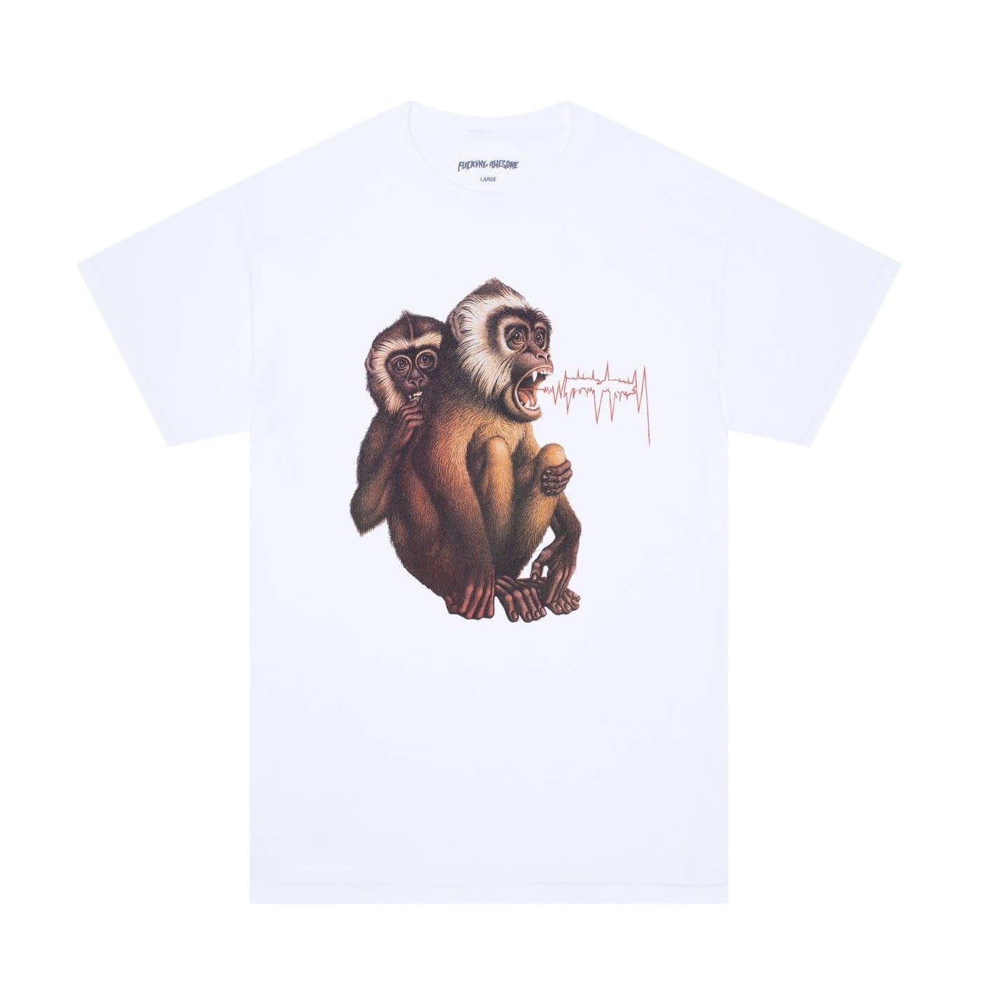 Fucking Awesome Monkey Radar White