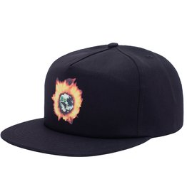 Fucking Awesome Angel Burn Snapback Black
