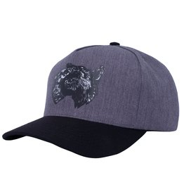 Fucking Awesome Dogs Snapback Grey/Black