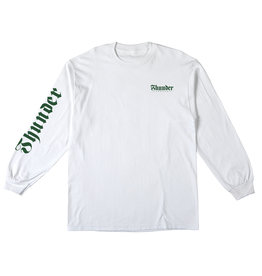 Thunder Trucks Script Sleeve L/S White/Green
