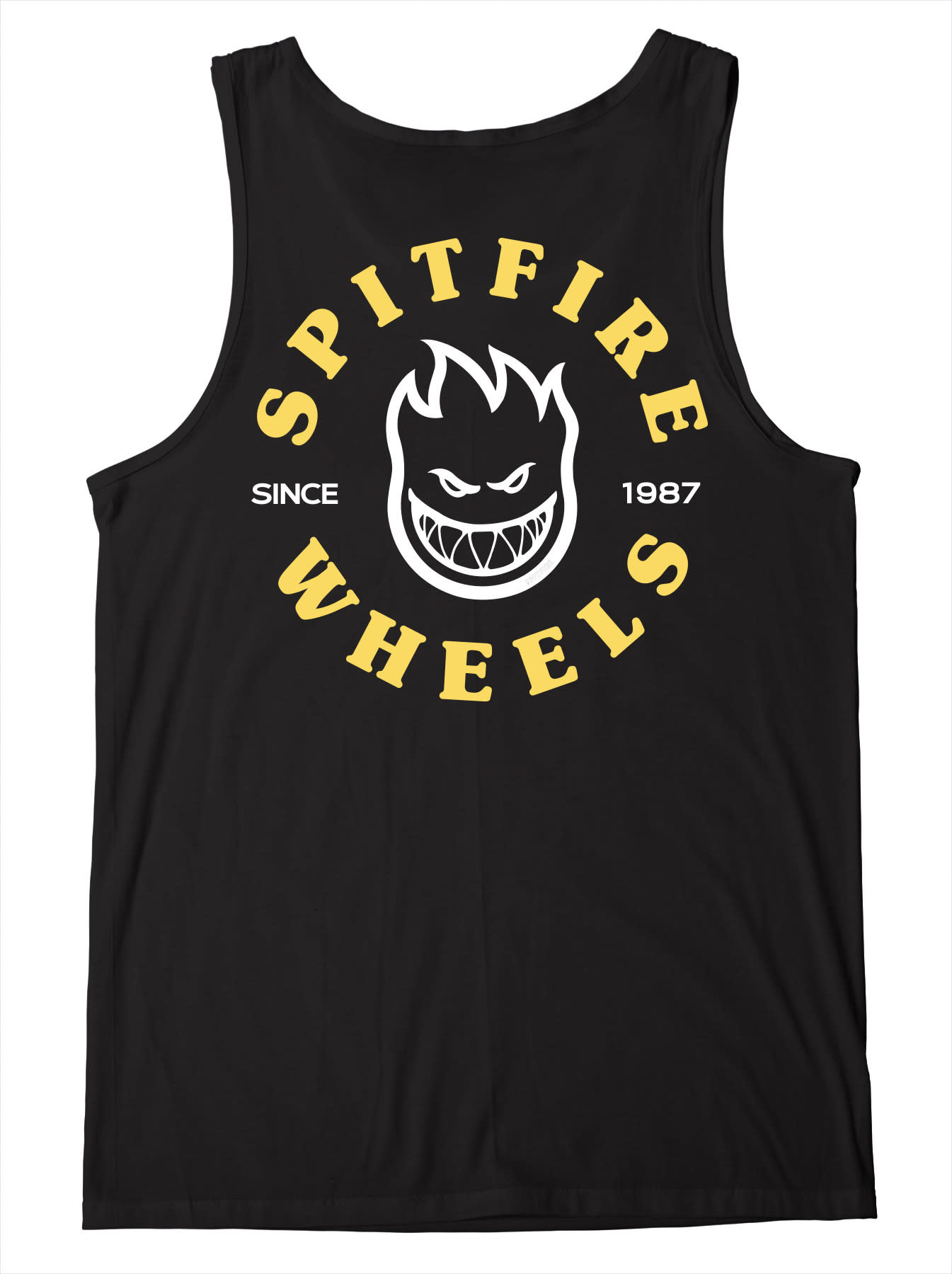 Spitfire Wheels Bighead Classic Tank Black/Yellow