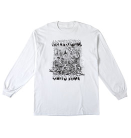 Anti Hero Curb Riot L/S White
