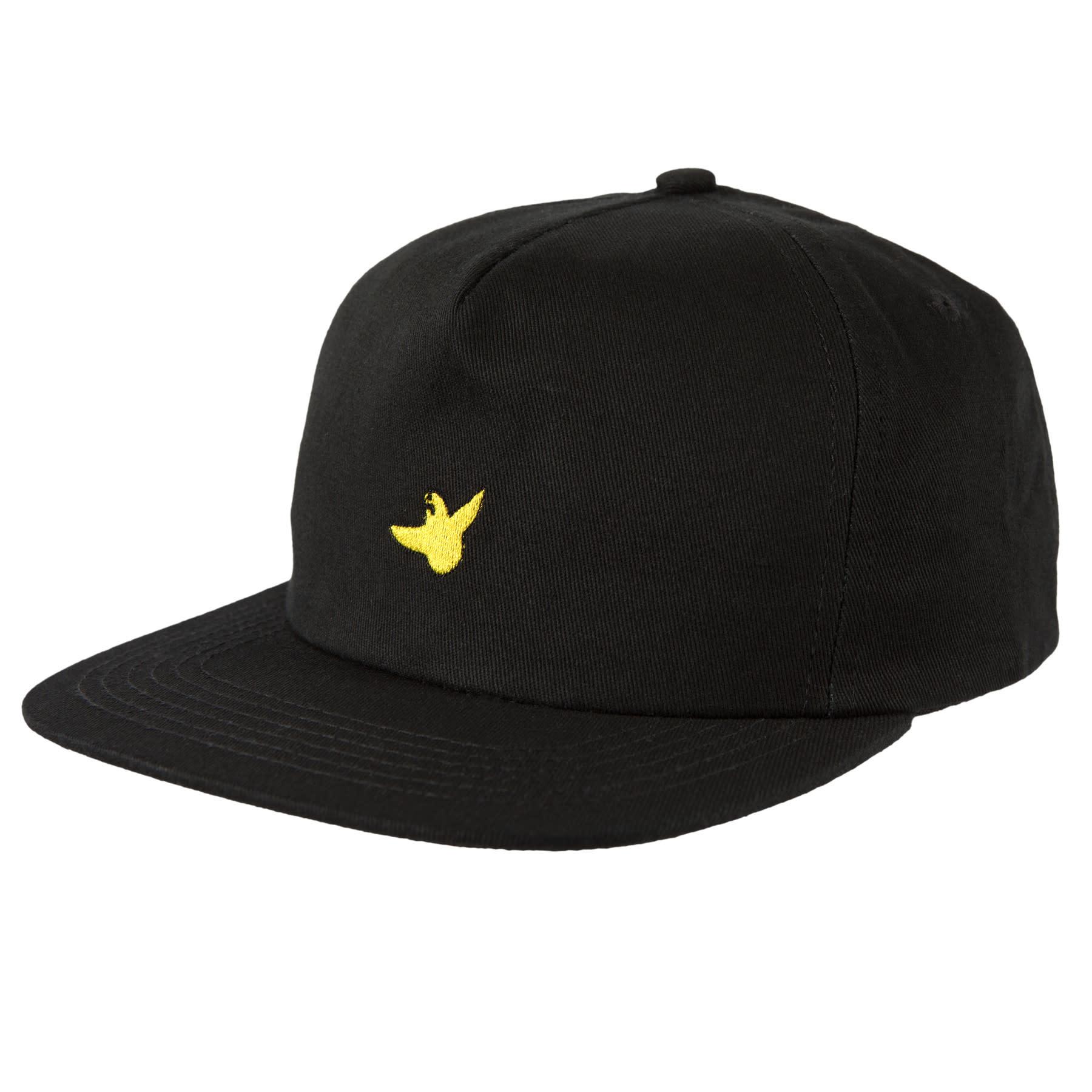 Krooked OG Bird Snapback Black