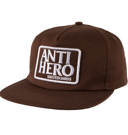 Anti Hero Reserve Patch Snapback Brown/White