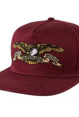 Anti Hero Eagle Snapback Dark Red