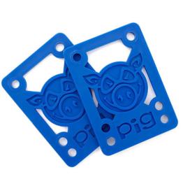 "Pig Wheels Pig Riser Pad 1/8"" Blue"