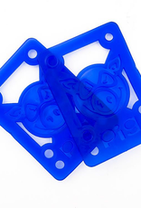 "Pig Wheels Pig Soft Riser Pad 1/8"" Blue"