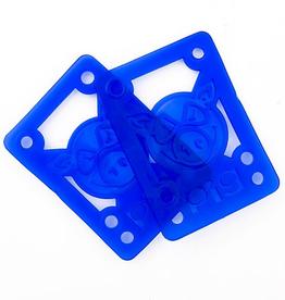 "Pig Wheels Pig Soft Riser Pad 1/8"" Blue"