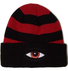Toy Machine Sect Eye Stripe Dock Black Beanie
