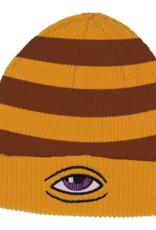 Toy Machine Sect Eye Stripe Dock Mustard Beanie