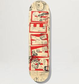 "Baker Skateboards AR Brand Name Doodles 8.0"""