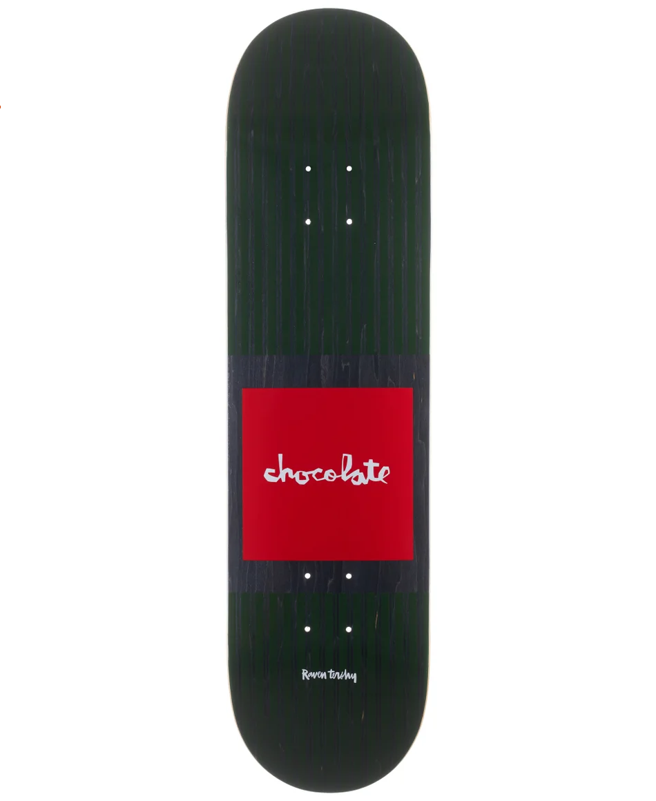 "Chocolate Skateboards Tershy Pop Secret 8.25"" Green"