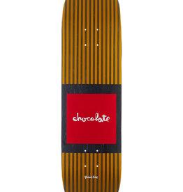 "Chocolate Skateboards Cruz Pop Secret 8.18"" Yellow"