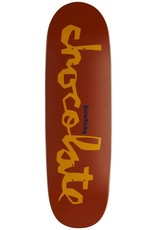 """Chocolate Skateboards Tershy OG Chunk Couch 9.25"""" Brown/Tan"""