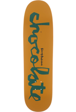 "Chocolate Skateboards Anderson OG Chunk Skidul 8.5"" Yellow/Green"