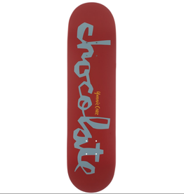 "Chocolate Skateboards Cruz OG Chunk 8.18"" Red/Slate"