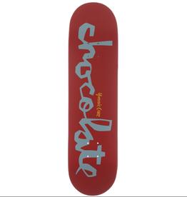 "Chocolate Skateboards Cruz OG Chunk 8.0"" Red/Slate"
