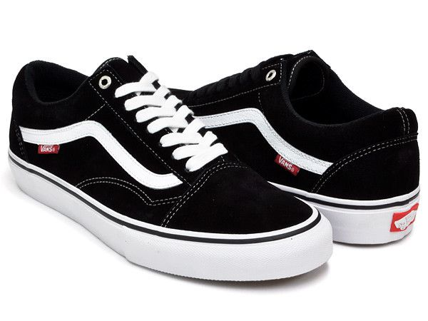 Vans Shoes Old Skool Pro Black/White