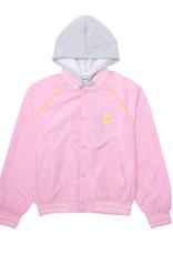Fucking Awesome Okayama Bomber Hood Pink/Grey