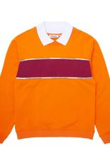 Fucking Awesome Contra Flow Collared Sweatshirt Orange