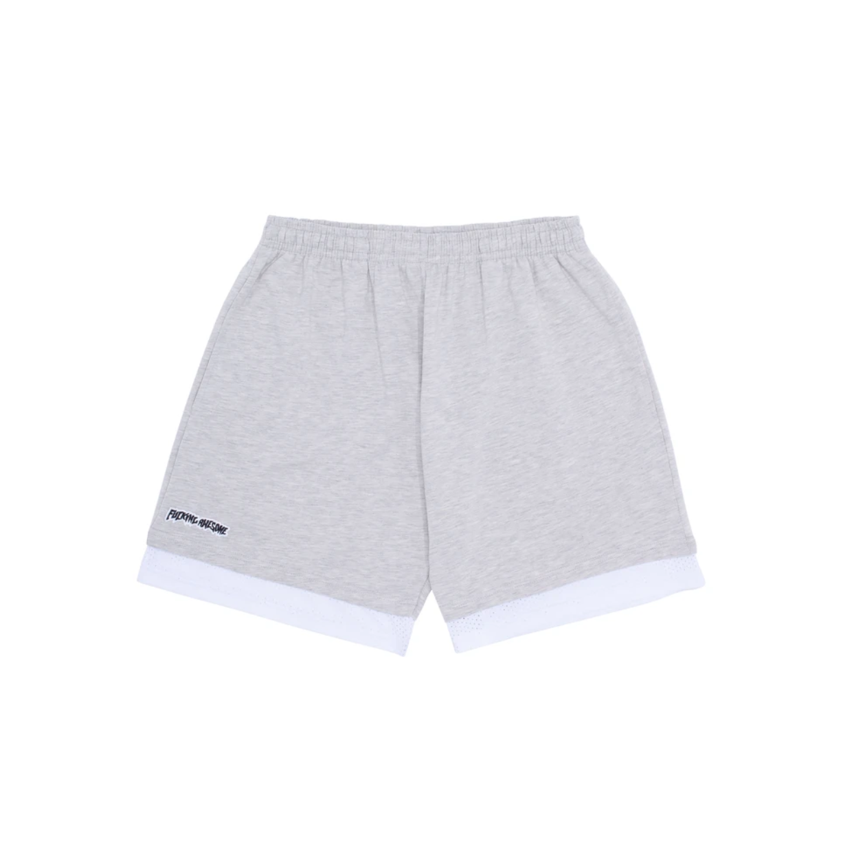 Fucking Awesome Hoops Double Short Grey